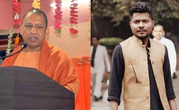 yogi adityanath and journalist prashant kanojia