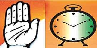 NCP congress alliance seat sharing formula