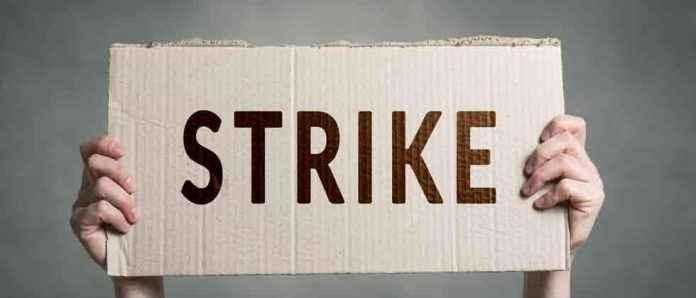 teacher recruitment strike against government