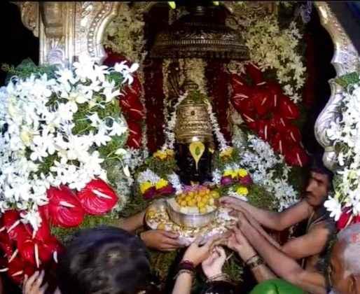 vitthal puja at pandharpur on the occasion of ashadhi ekadashi