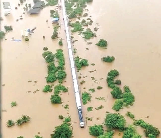 Thane records 5,000 mm more rainfall than last year