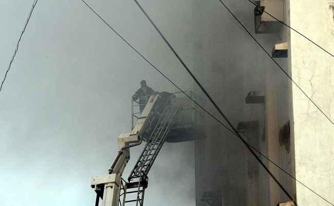 BANDRA MTNL FIRE
