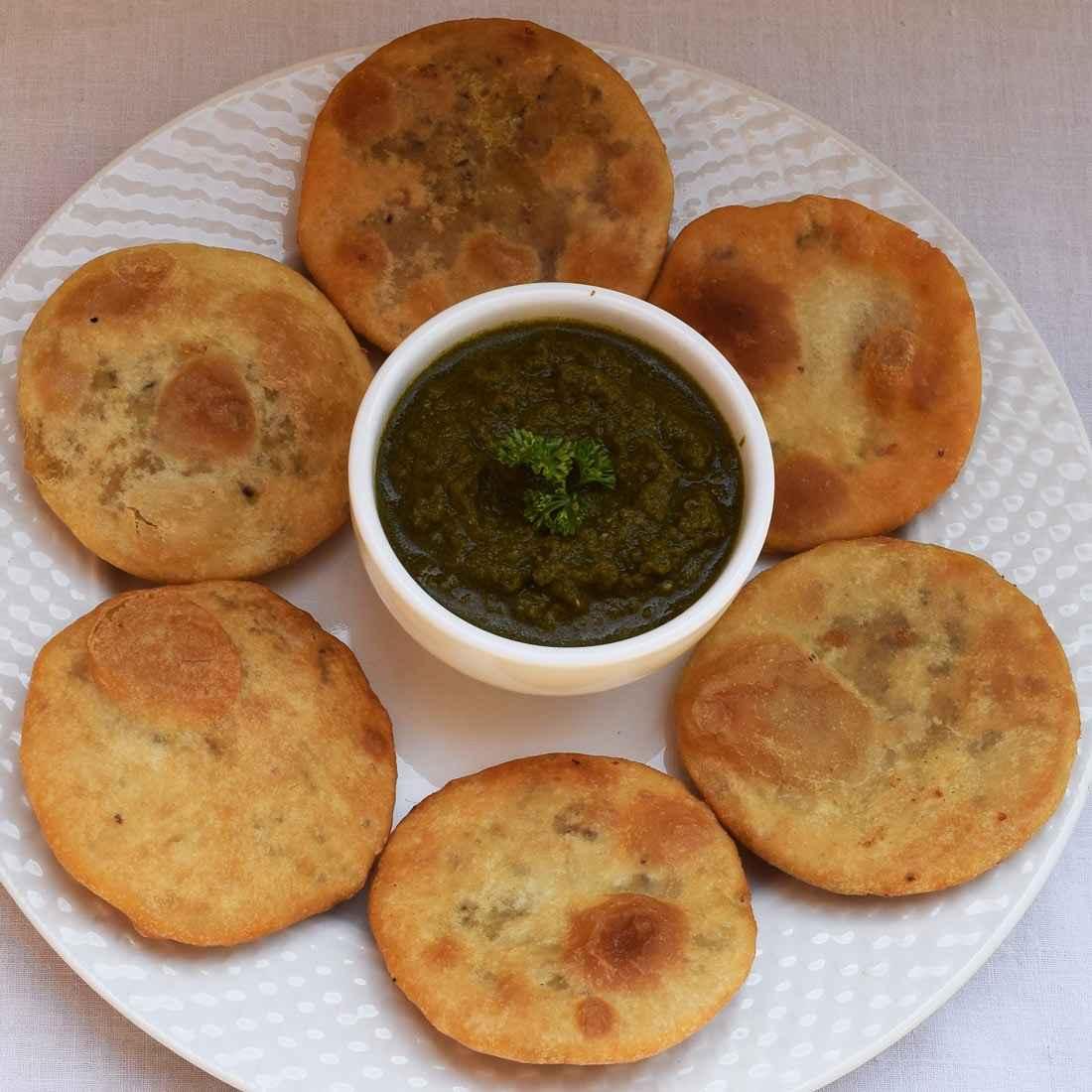 Fasting kachori recipe at home