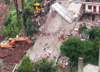 himachal pradesh : army personnel among 35 feared trapped after building collapses in himachal pradesh