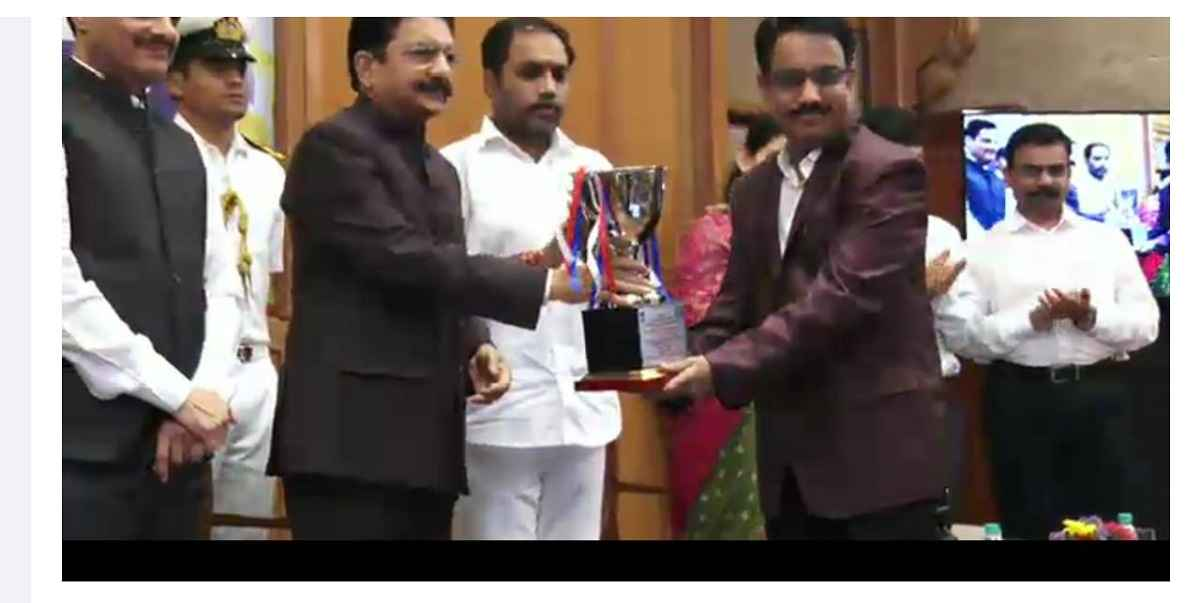 Best Industrial Training Institute award for Ambernath Institute of Information Technology