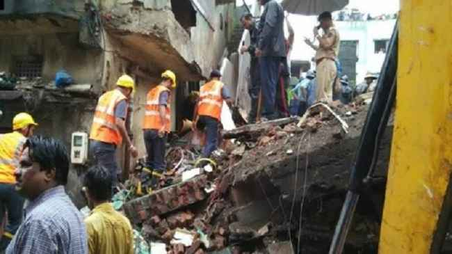 One-storey building collapsed in Bhiwandi