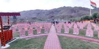tribute to martyrs on kargil vijay day