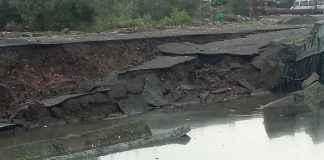 Wall collapse in vikhroli