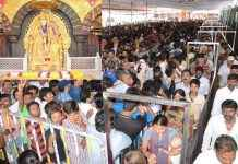 crowd of devotees in Shirdi, Akkalkot and Shegant on the occasion of Guru Purnima