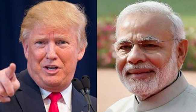 Trump says I am number one, Modi is number two