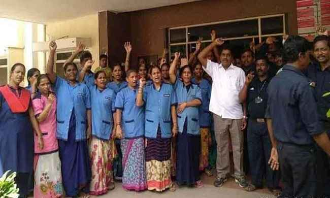 maharashtra statewide strike of employees in government hospitals