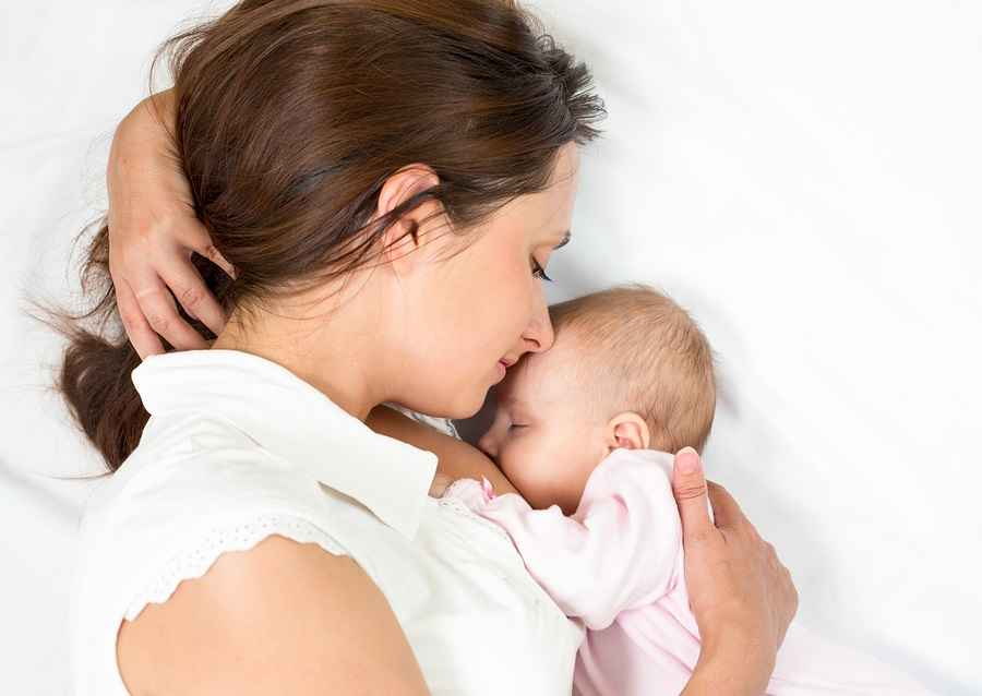 Mother's milk is beneficial for baby
