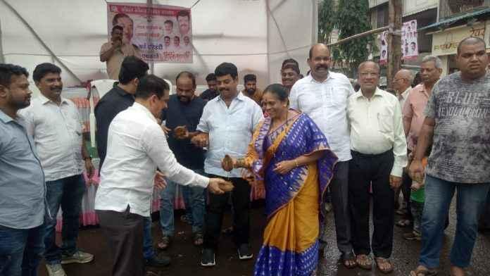 mayor vinita rane celebrated narali pournima in dombivali