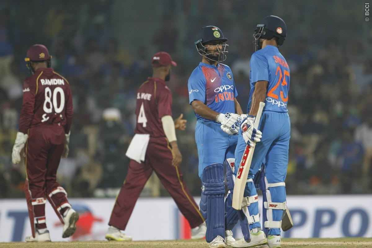 India beat West Indies by six wickets