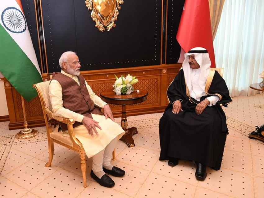 Modi-in-Bahrain