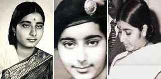 sushma swaraj Some Old Pics