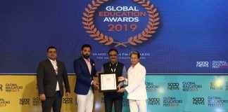 Global Education Award 2019 awarded to the Mumbai University