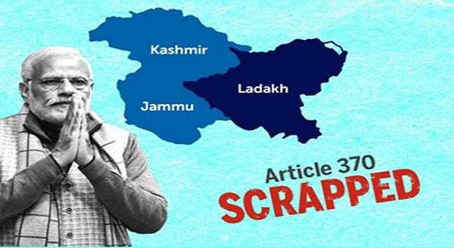 Article 370 scrapped in Jammu and Kashmir bollywood celebrity react article