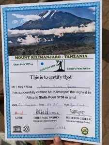 avait got certificate