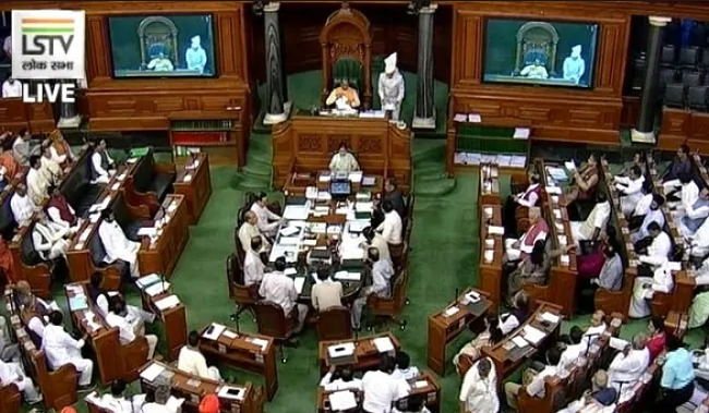 article 370 cancel in lok sabha