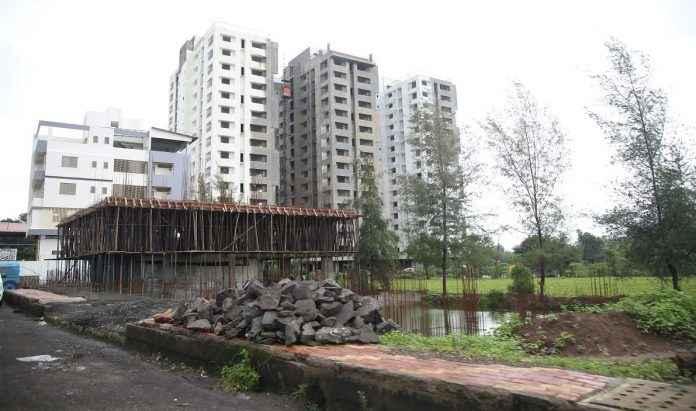 Flood line encrochment