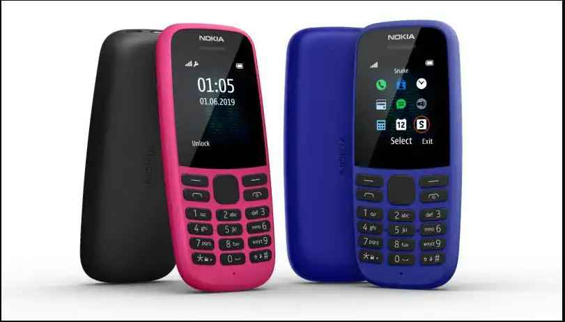 NOKIA 105 FEATURE PHONE ANNOUNCED IN INDIA WITH 4 MB RAM AND 4 MB STORAGE FOR RS 1199
