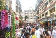 rush in market for Ganapati's arrival