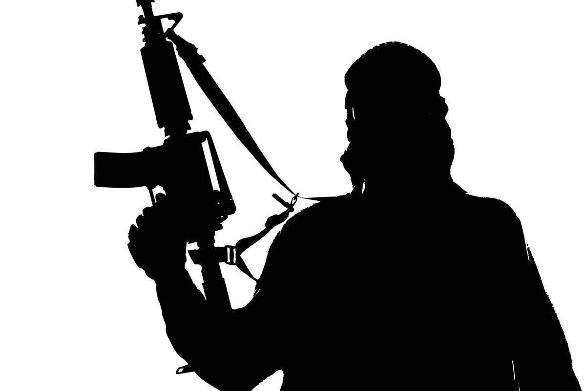 four terrorist along with ISI agent enter India high alert