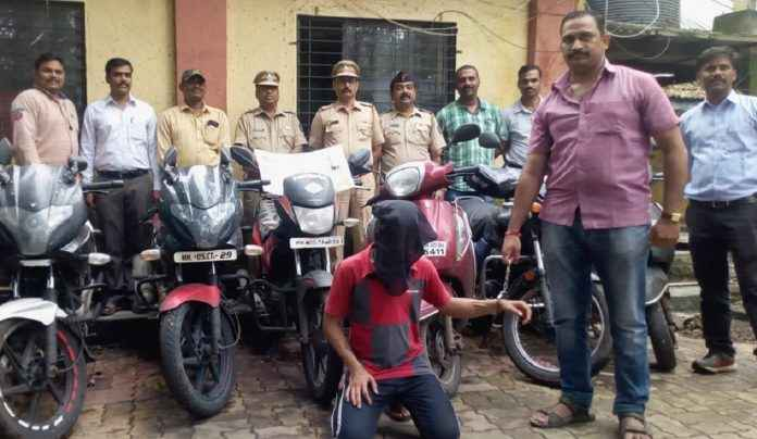 two-wheeler thief arrested in Kalyan