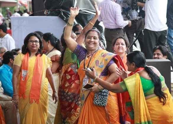 Discussion about Assembly elections in mahajanadesh yatra at nashik