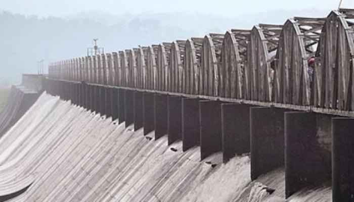 Five doors opened of Radhanagari dam