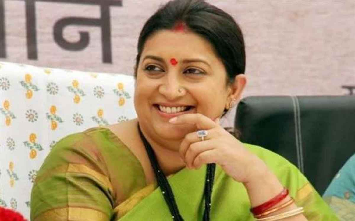 mp smriti irani share a video of marathi serial on instagram