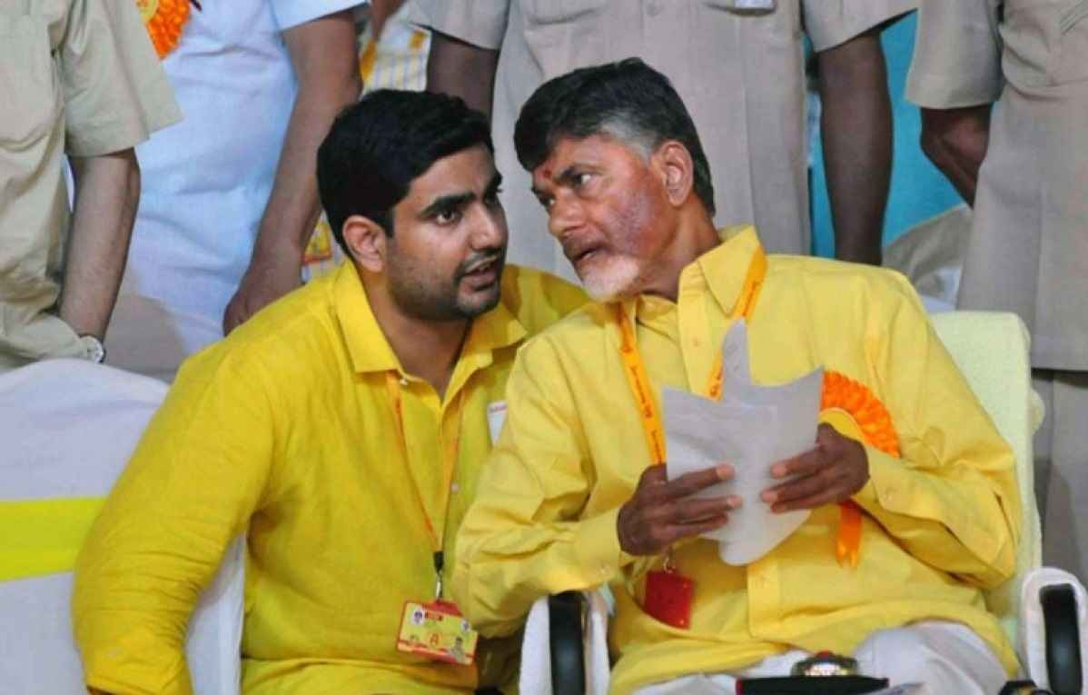 Chandrababu Naidu and his son Nara Lokesh have been put under preventive detention at their house