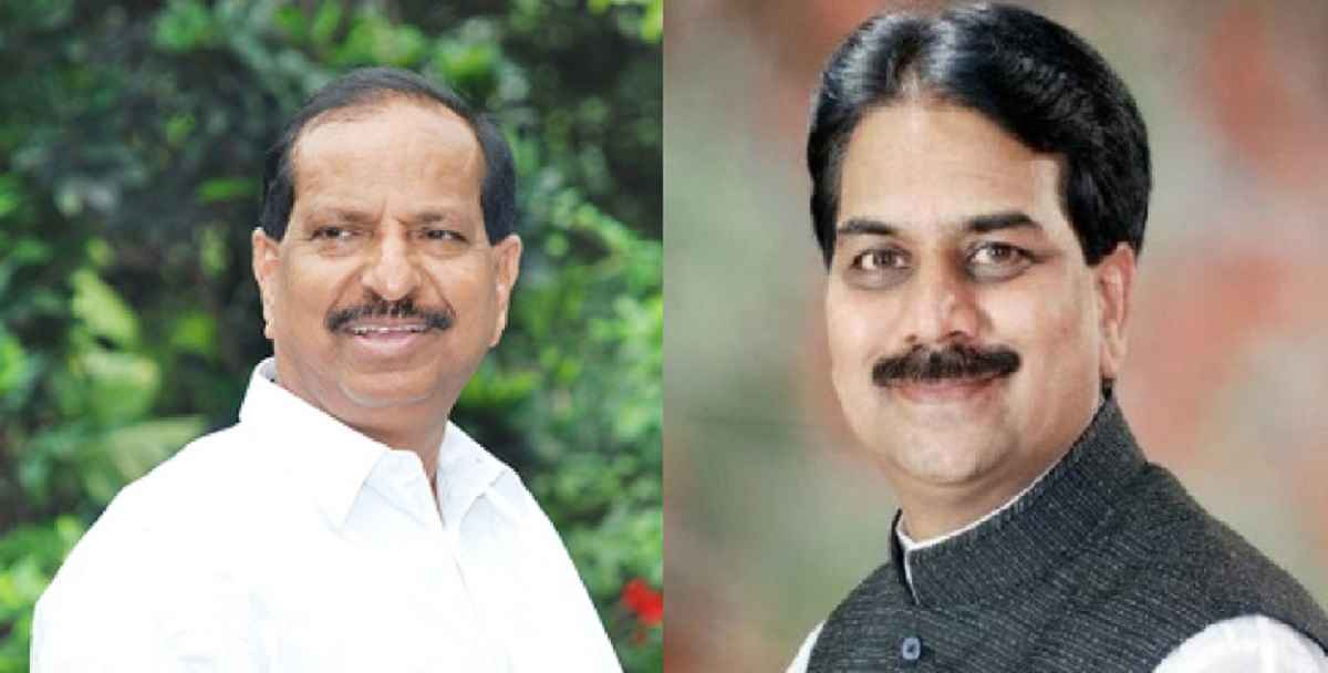 Ganesh naik and harshvardhan patil joins bjp