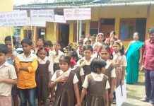 Students raise awareness on cleanliness in ambernath