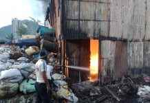 fire broke out at a godown in thane shilphata area