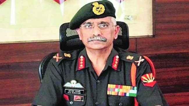 lieutenant manoj naravane is the deputy chief of the army