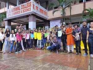Vidyarthi Bharati's Black Week Against EVM! 1