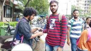 Vidyarthi Bharati's Black Week Against EVM! 3