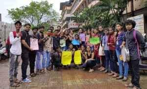 Vidyarthi Bharati's Black Week Against EVM!