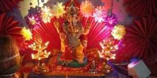 sachin damodar celebrate eco friendly ganesh festival