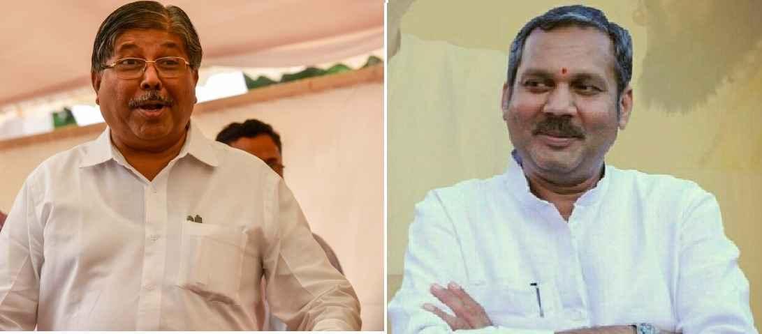 Chandrakant Patil and Udyanraje Bhosale
