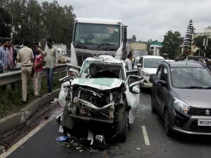 car accident on pune-satara highway
