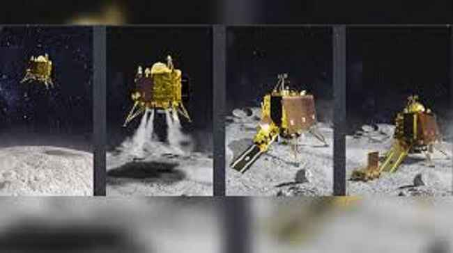 Indian Space Research Organisation (ISRO) Chief, K Sivan to ANI:We've found the location of #VikramLander on lunar surface&orbiter has clicked a thermal image of Lande
