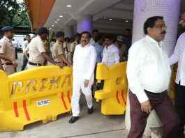 ganesh naik boycott bjp program for not getting seat on stage