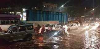 Five dead after a wall collapsed due to heavy rains in Sahakar Nagar, Pune. More details awaited