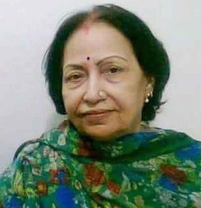 lata mangeshkar award given to usha khanna