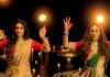 nusrat jahan mimi chakrabortys maa durga tribute dance video viral