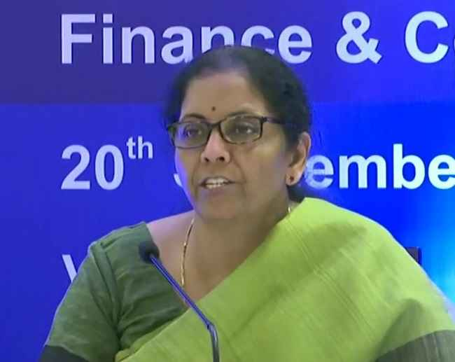 finance minister nirmala sitaraman annonced corporate tax reduce domestic companies and news domestic manufacturing companies