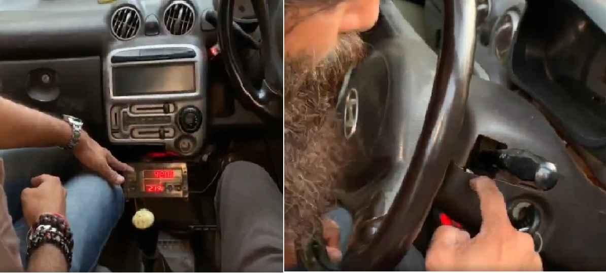 nitin nandgaonkar taxi meter